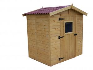 Abri Panneau bois massif avec plancher / 16 mm / 3,55 m²