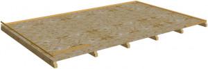 Plancher pour abri BA 4040.02 N / Fabrication EUROPE