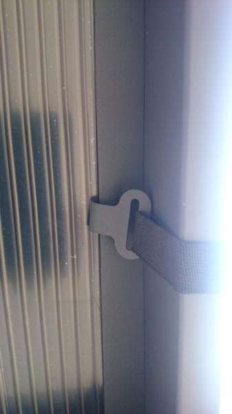 Bâche pour Double Carport en PVC teinté 280 gr/m²