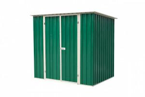Abri métal toit 1 pente / 2,25 m²