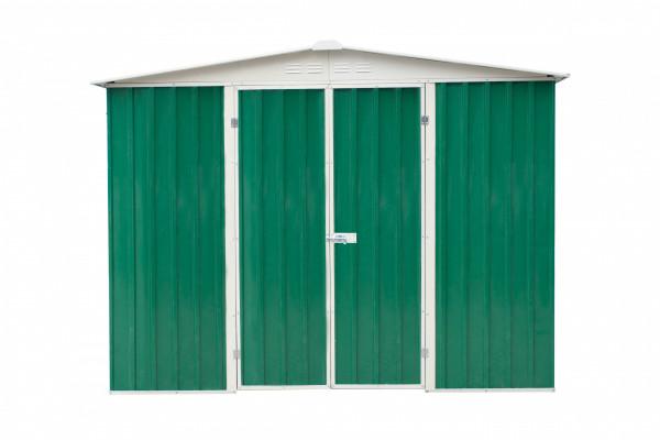 Abri métal toit 2 pentes / 5,95 m²