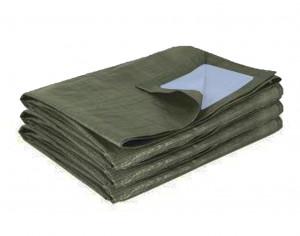 Bâche de protection bicolore vert foncé AT 3737