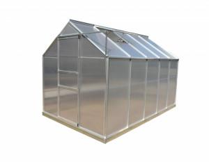 Serre jardin structure aluminium / polycarbonate 4 mm / 6,03 m²