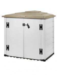 Coffre de jardin capacité 1 100 litres