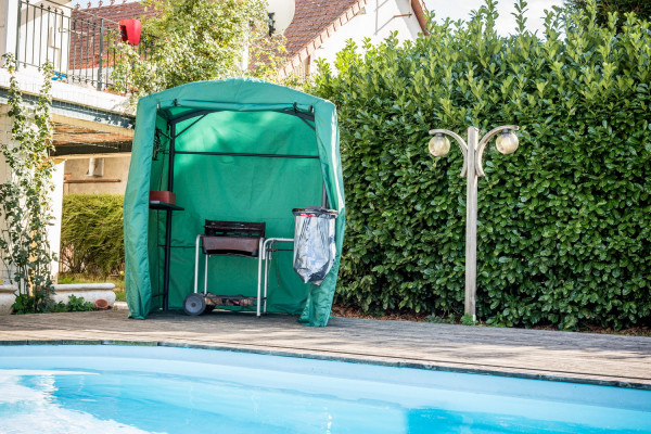 Bâche de protection pour carport barbecue CAR 1713 AC