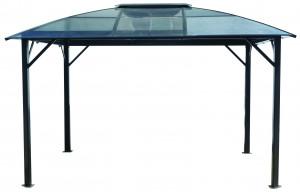 Gloriette ALUMINIUM toit 4 pentes  / Surface extérieure : 10,80 m2