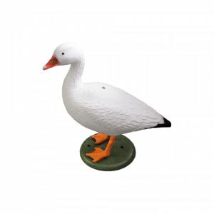 figurine deco oie blanche