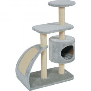 Arbre à chat WAVE, taille L, gris