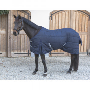 Couverture chevaux RugBe Indoor, bleue, 125 cm
