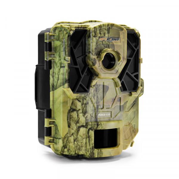 Caméra de surveillance/chasse «Super Low Glow» Ultra Compacte Leds bleues invisibles