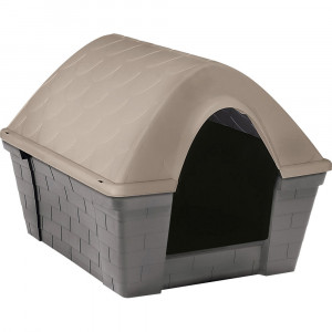 Niche CASA FELICE, large, gris/taupe