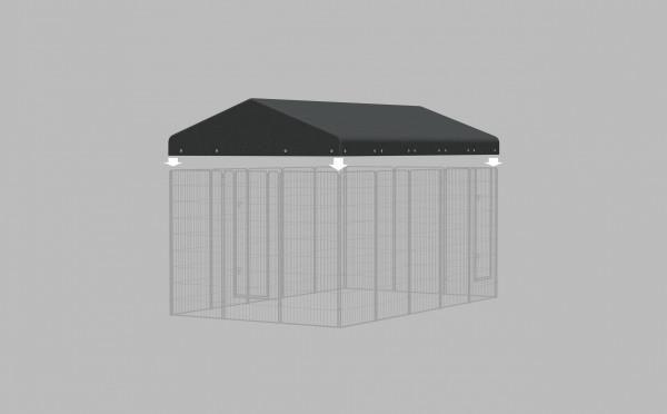 Kit toit pour chenil GM