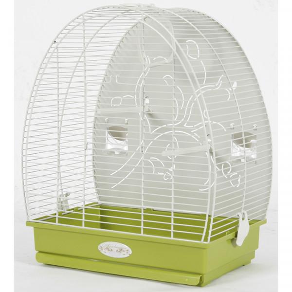 Cage Arabesque ALICE 40 cm olive