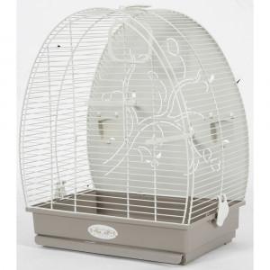 Cage Arabesque ALICE 40 cm taupe