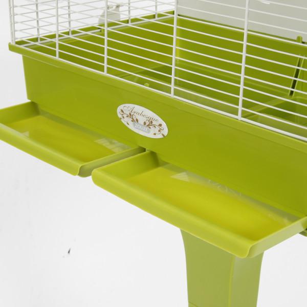 Cage Arabesque ANNA 60 cm olive