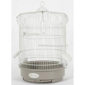 Cage Arabesque INES 40 cm taupe