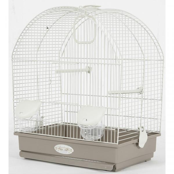 Cage Arabesque SALOMEE 40 cm taupe