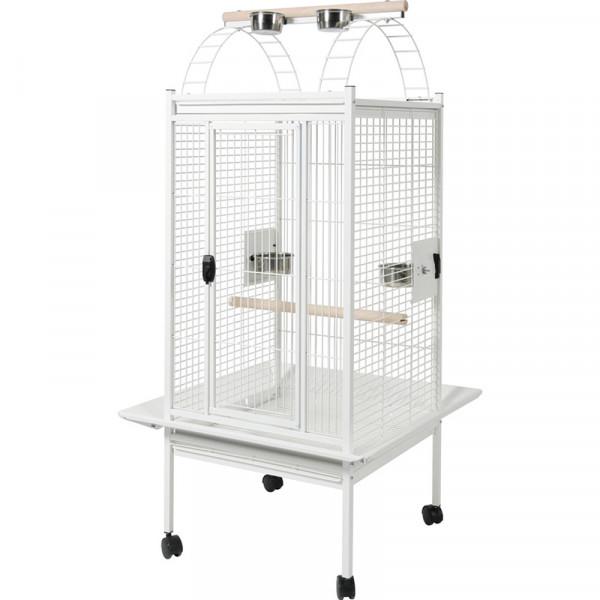Cage KAMBELA 76 cm blanche