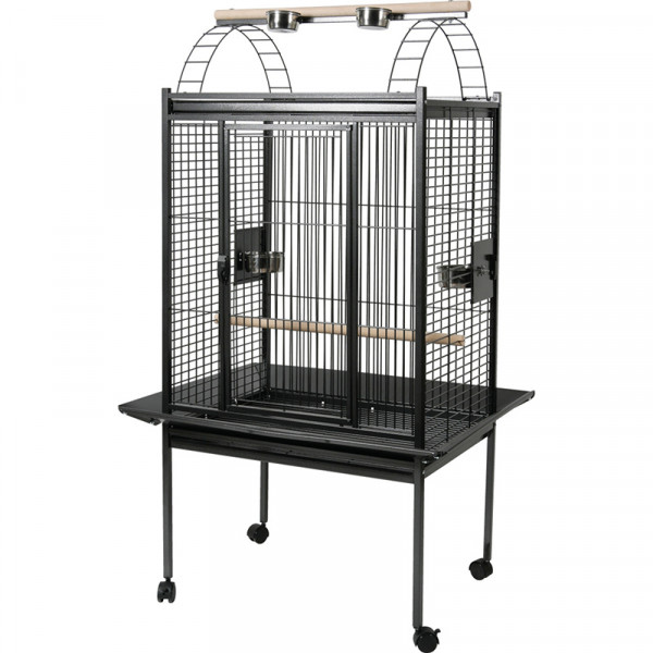 Cage KUBEO 96 cm grise