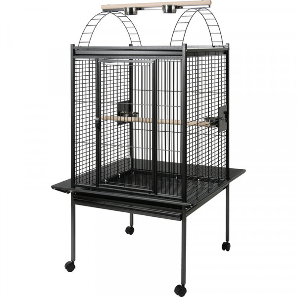 Cage KUBEO XL 96 cm grise