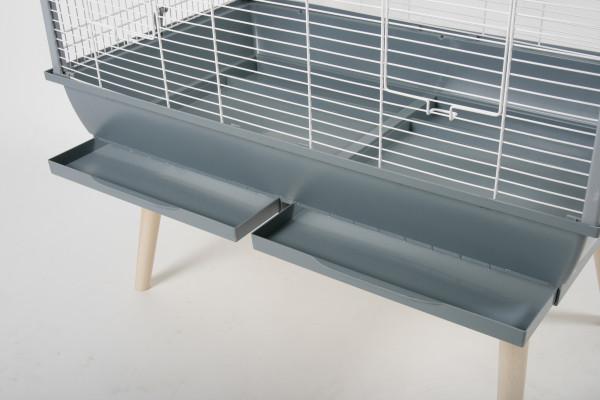 Cage NEO JILI, 80 cm, noir