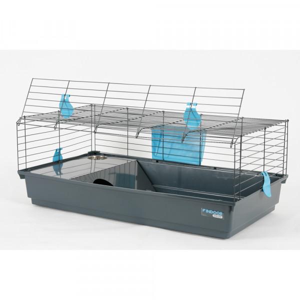 Cage INDOOR 100 cm bleu