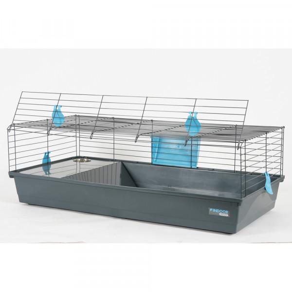 Cage INDOOR 120 cm bleu