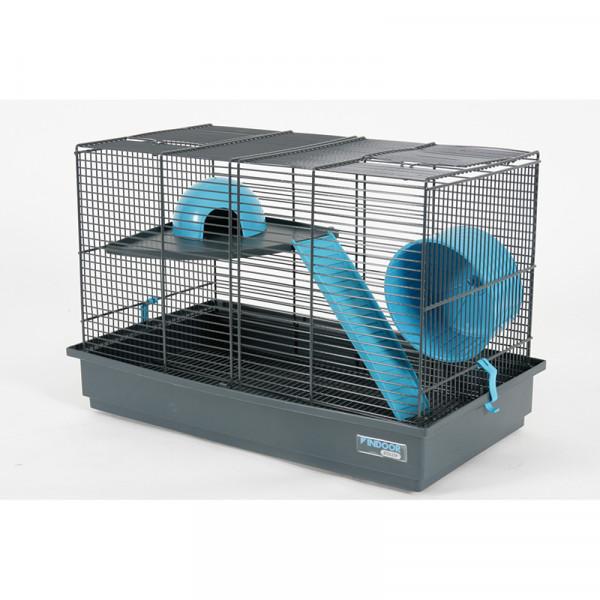 Cage INDOOR 50 cm gerbille bleu
