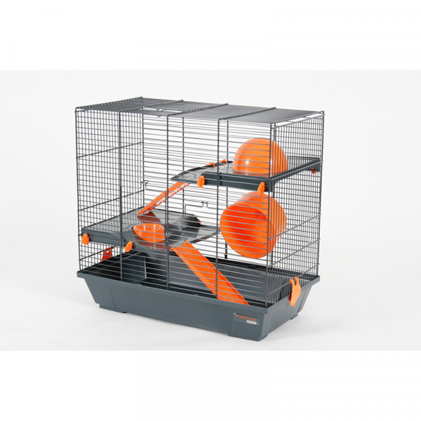 Cage INDOOR 50 cm hamster duplex orange