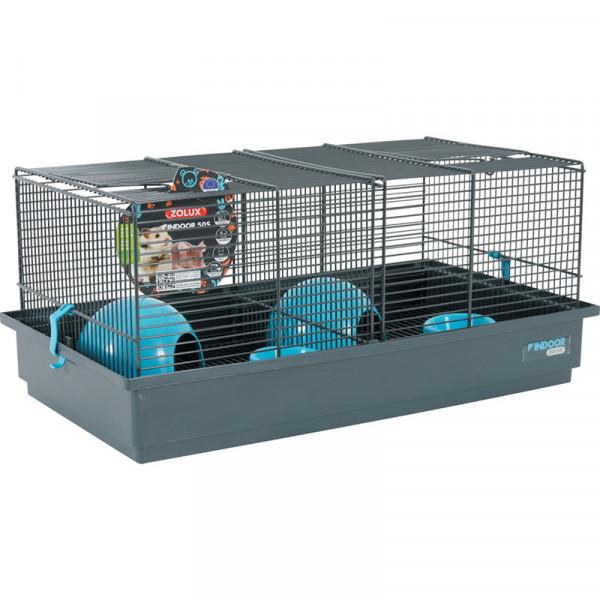 Cage INDOOR 50 cm souris bleu