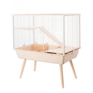 Cage NEO MUKI, 58 cm, beige