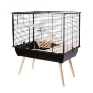 Cage NEO MUKI, 58 cm, noir