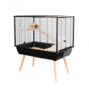 Cage NEO SILTA, 58 cm, noir