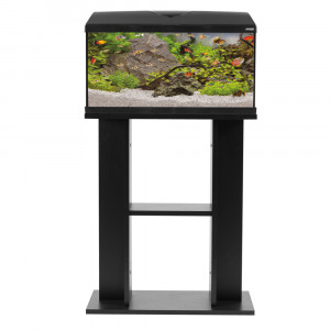 Meuble aquarium FIRST, 60 cm, noir