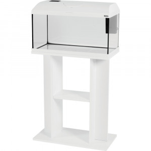Meuble aquarium FIRST, 60 cm, blanc