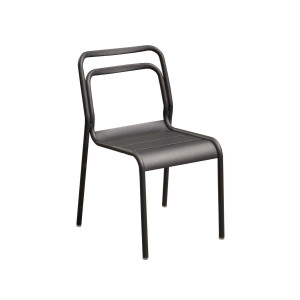 Lot de 6 chaises Eos graphite