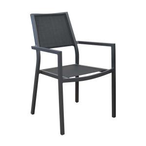 Lot de 2 fauteuils noirs Florence