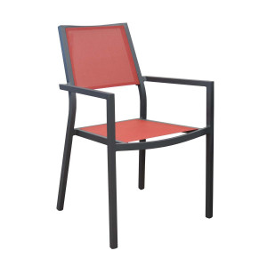 Lot de 2 Fauteuils rouges Florence