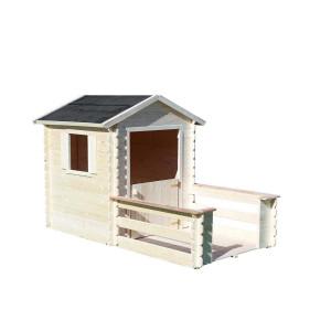 Cabane en bois pour enfant PRALINE