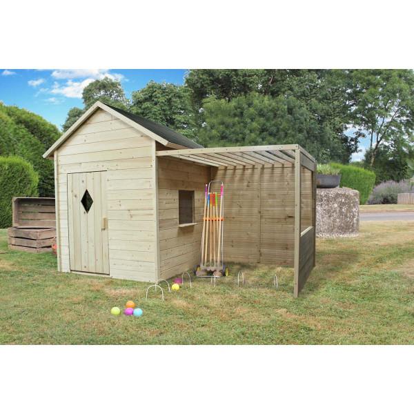 Cabane en bois pour enfant MIMOSA