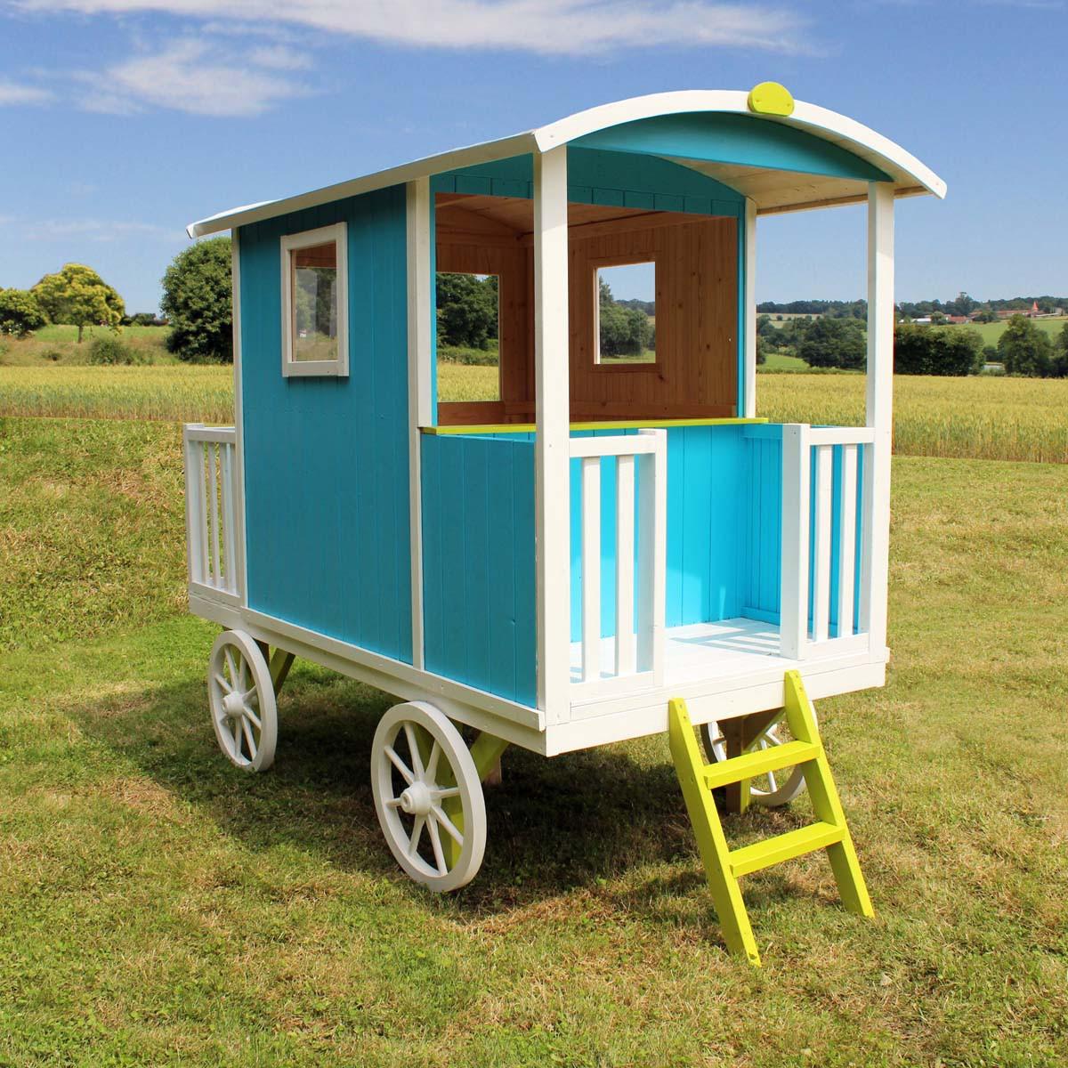 Acheter Une Roulotte Pour Y Vivre cabane en bois pour enfant roulotte carry