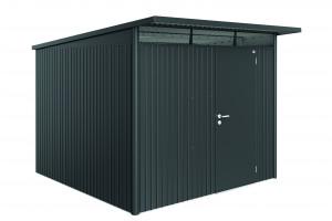Abri AvantGarde gris foncé, porte standard 7,80 m²