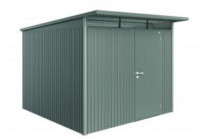 Abri AvantGarde gris quartz, porte standard 7,80 m²