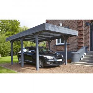 Carport 1 véhicule LOUISON 3040x5180mm