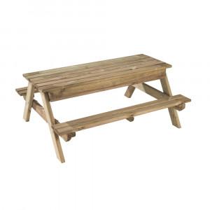 Table pique nique/ bac à sable Arielle 120*100*51cm