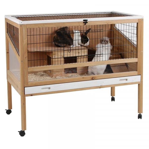 Cage en bois INDOOR DELUXE