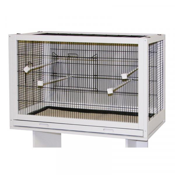 Cage pour oiseaux en bois