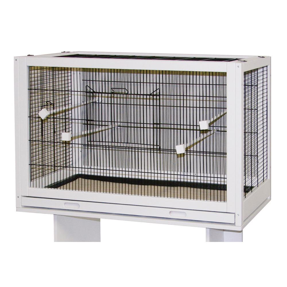 cage pour oiseaux en bois mon jardin vivre. Black Bedroom Furniture Sets. Home Design Ideas